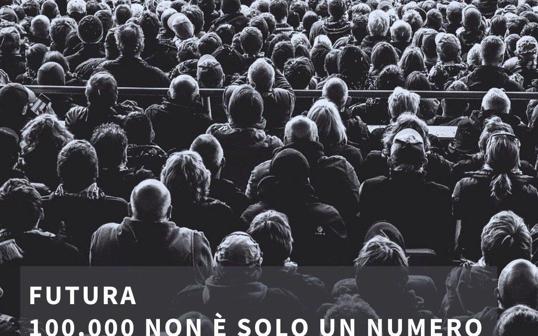 100.000 mila non è solo un numero. Domenica 4 luglio 2021