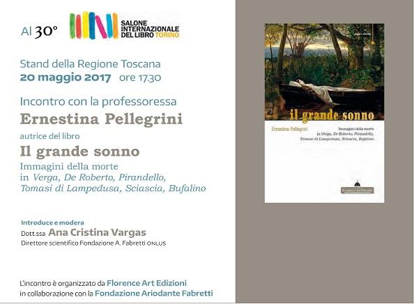 Incontro al 30° Salone Internazionale del Libro di Torino