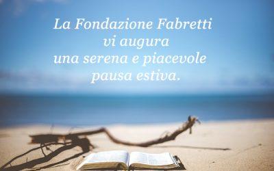Chiusura estiva Fondazione Fabretti