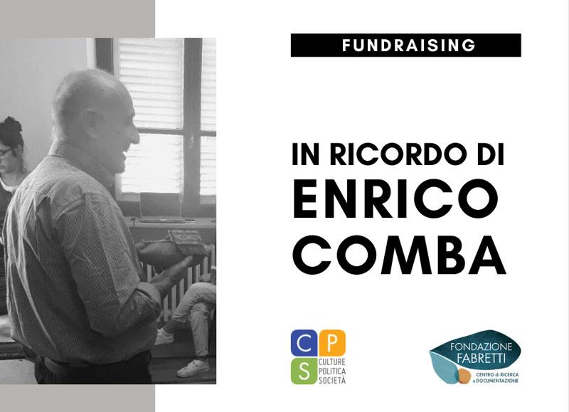 Fundraising in memoria di Enrico Comba